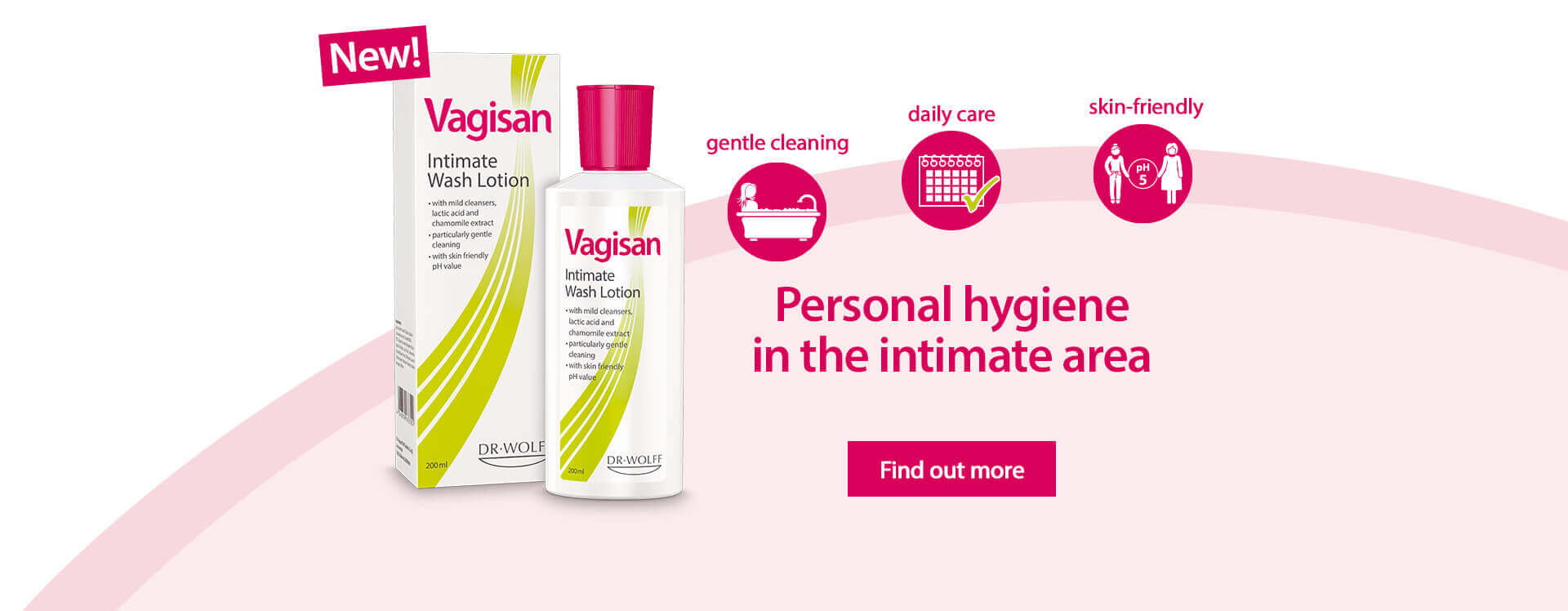 Personal hygiene in the intimate area