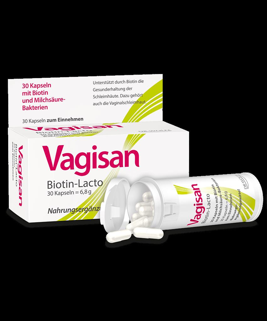 vagisan biotin lacto gesunde vaginalschleimhaut. Black Bedroom Furniture Sets. Home Design Ideas